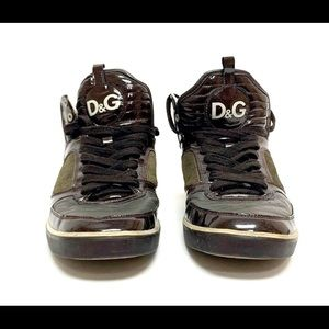 Dolce & Gabbana D&G Sneakers Patent Leather 10.5